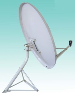 Ku90cm Offset Solid Satellite Dish TV Antenna Price pictures & photos