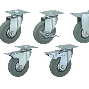 Glide Heavy Duty PU Caster pictures & photos