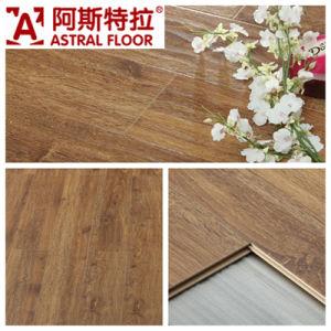 AC3/AC4 Waterproof (U-groove) Wave Embossed Surface Oak Laminate Flooring (AB9998) pictures & photos