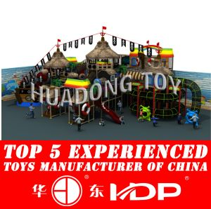 Huadong Indoor Playground New Style Ancient Tribe (HD2015B-009A) pictures & photos