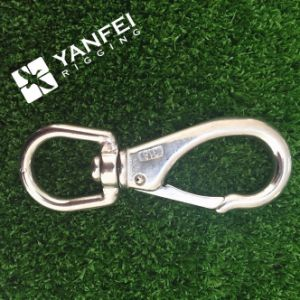 Highly Polished Spring Straight Type Snap Hook with Screw pictures & photos