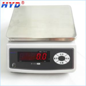 Rechargeable 3-30kg Table Weighing Scale pictures & photos