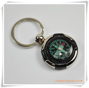 Promotion Gifts Fo Rcompass Keychain pictures & photos