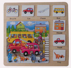 Educational Wooden Puzzle Wooden Toys (34773) pictures & photos