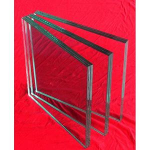 5+0.38PVB+5mm Laminated Glass with Polised Edge