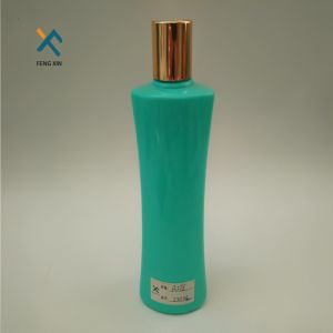 New Design 300ml Plastic Transparent Bottle for Hair Conditioner pictures & photos
