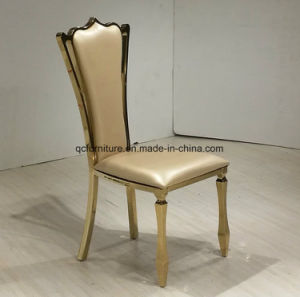 Peacock Grain Fabric Dining Chairs pictures & photos