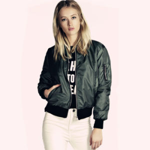Fashion Manufacturer 2017 Bomber Jacket Coat Women pictures & photos