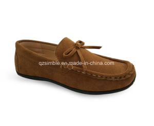 Casual Loafers Shoes for Children with Magic Velcro pictures & photos
