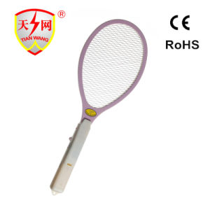 High Voltage Electronic Mosquito Racket with Disinfect Function (TW-03) pictures & photos