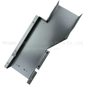 Sheet Metal Plate Metal Part with Black Powder Coated pictures & photos