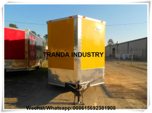 Electric Street Hot Dog Cart Lunch Food Vans with Veranda Made in China pictures & photos