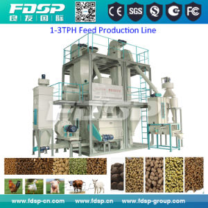 Customerized Mini Pellet Feed Set with CE (SKJZ5800) pictures & photos