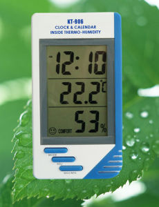 Thermo-Humidity Meter with Clock / Calendar / Alarm pictures & photos