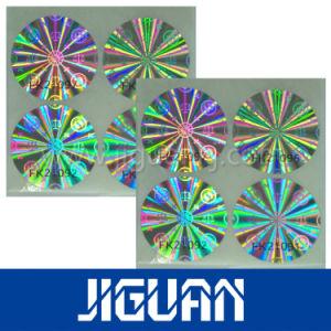 Anti Counterfeit Transaprent Laser Holographic Overlays pictures & photos