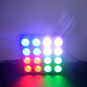 4X4 LED Matrix 16X10W RGBW Wash Effct LED Matrix Beam Disco DJ Event Stage Light pictures & photos
