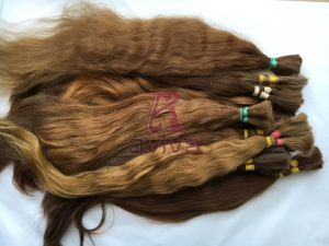 Virgin Remy Unprocessed Human Hair Extension Bulk pictures & photos