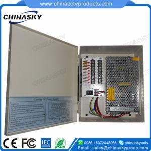 12VDC 5AMP 9 Channel Premium CCTV Power Supply Unit (12VDC5A9PN) pictures & photos