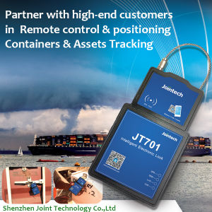 Electronic Cargo Container Tracking Padlock with Remote Lock Door Control and Position Monitoring pictures & photos