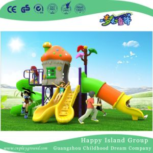 2018 New Design Outdoor Middle Size Combination Mushroom House Children Playground Equipment (H17-A10) pictures & photos