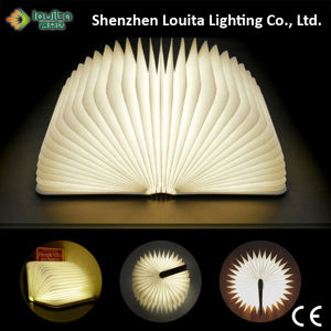 High Quality Reading Book Lamp with DuPont Tear-Persistant Paper pictures & photos