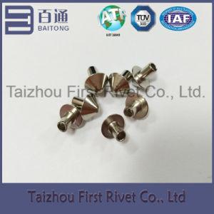 3X4.58mm Nickel Plated Mushroom Head Semi Tubular Steel Rivet pictures & photos