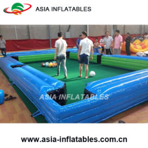 Inflatable Snooker Pool Table Football Field Football Snooker pictures & photos