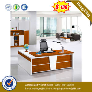 Modern MFC Laminated MDF Wooden Desk Office Table (UL-MFC457) pictures & photos