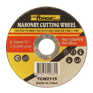 115*3*22.2mm Flat Type Stone Cut off Disc Masonry Cutting-off Wheel pictures & photos