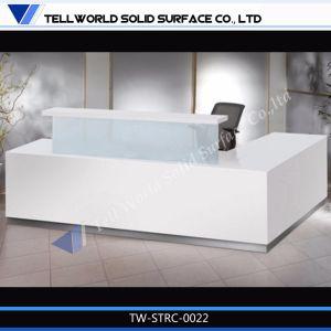 High Gloss Small Reception Desk Cheap Reception Desk pictures & photos