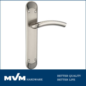 Furniture Hardware Door Handles on Plate (A1205S001) pictures & photos
