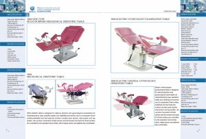 Multi-Purpose Parturition Bed, Hydraulic System Obstetric Table, Gynecology Table, Ecoh042 pictures & photos