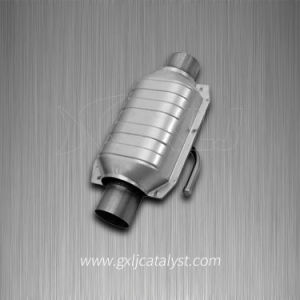 Small Engine Exhaust Gas Purification Metal Honeycomb Catalytic Converter pictures & photos