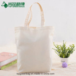 Fashion Custom Tote Canvas Bag Teen Shoulder Shopping Bag with Velcro pictures & photos