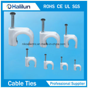 Hot Sale PP Square Cable Clips pictures & photos