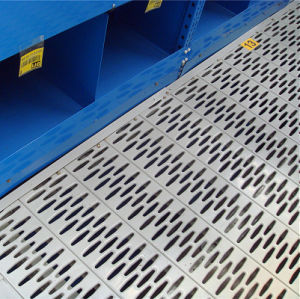 Steel Perforated Mezzanine Floor Panels for Floor System pictures & photos