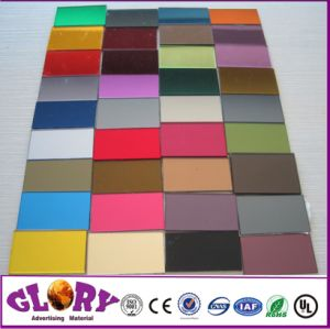 Plastic Double Sided Silver Acrylic Mirror Sheet for Outdoor Display pictures & photos