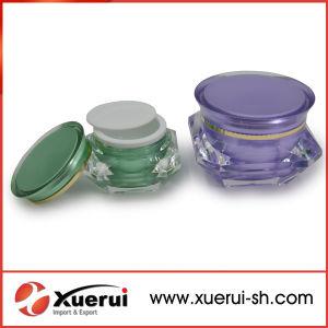 15g, 30, 50g Diamond Shape Cosmetic Acrylic Jar for Cream pictures & photos