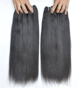 Wholesale Unprocessed Virgin Human Hair 9A Straight Malaysian Hair Extensions pictures & photos