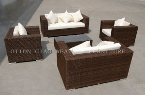 Wicker Hotel Sofa Set (GS-6430) for Hotel and Home