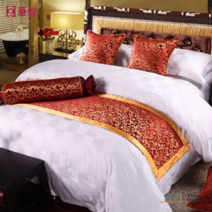 Polyester Hotel Use Bed Runner pictures & photos
