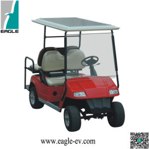 Solar Assistant Golf Cart, with 48V 185W Solar Panel, 48V 4kw DC Motor, Onboard Charger, Trojan Battery pictures & photos
