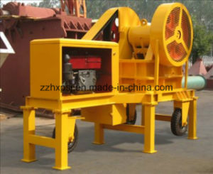 China Factory Mobile Jaw Crusher PE400*600 Driven by Diesel Engine pictures & photos
