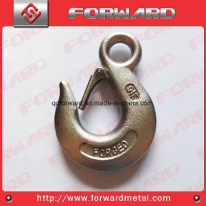 Drop Forged T316 Stainless Steel Eye Hoist Hooks pictures & photos