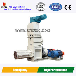 Double- Stage Vacuum Extruder, Interlocking Tiles Making Machine pictures & photos