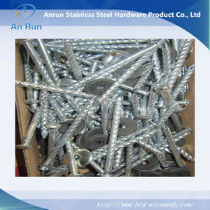 Electro Galvanized Roofing Nails with Rubber Washer pictures & photos