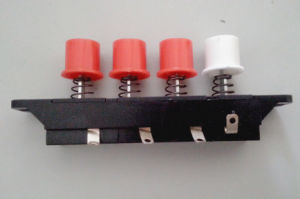 Rocker Switch Four Push-Button Electric Switch/Push Button Switch Snap Kcd4 pictures & photos