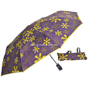 Auto Open and Close 3 Folding Umbrella( JX-U350)