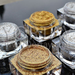 Silver White, Gold Luster Pearl Effect Powder/Shimmer Pearlescent Pigments
