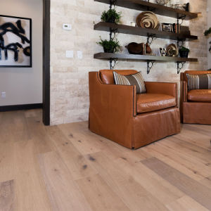 Grade CD Wooden Flooring/Russian or French Oak Engineered Wood Floor
